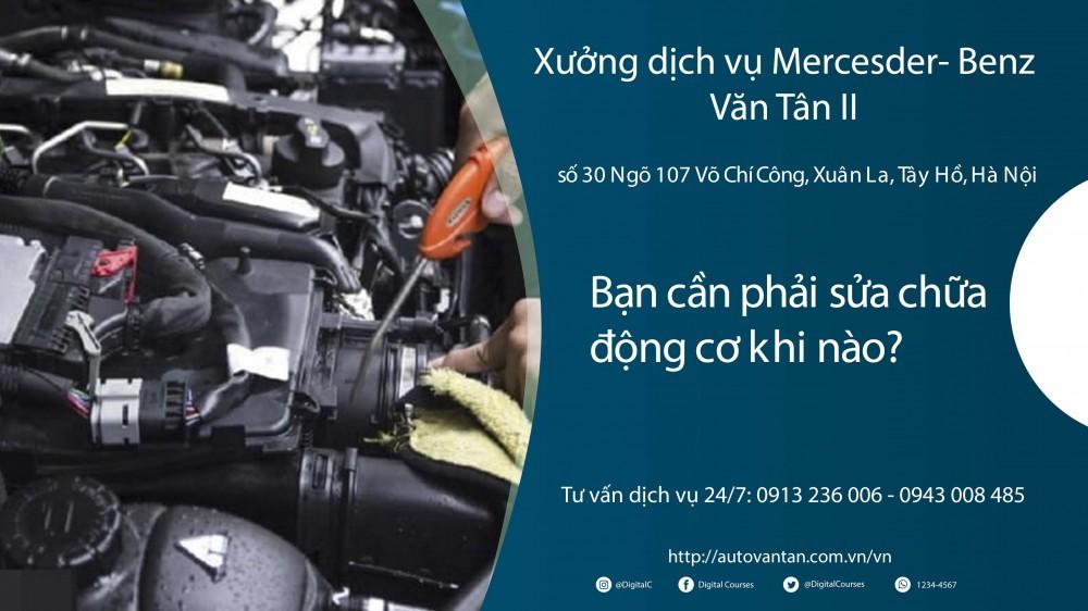 Bảo dưỡng và sửa chữa động cơ ô tô tại Văn Tân