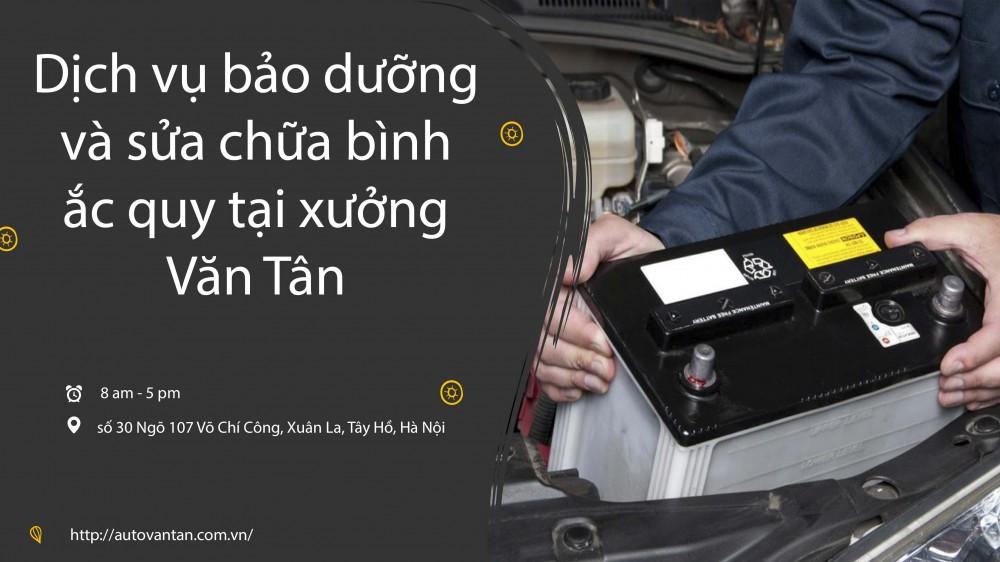 Nhận biết và cách khắc phục ắc quy ô tô khi hỏng