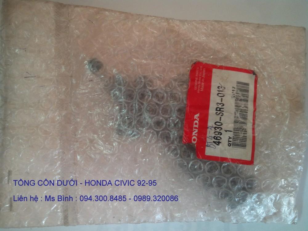 TỔNG CÔN DƯỚI ( HEO CÔN ) HONDA CIVIC 92-95