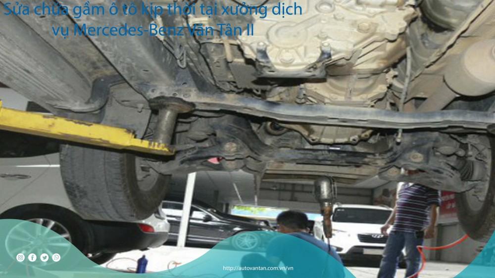 Sửa chữa gầm ô tô giá rẻ tại Văn Tân
