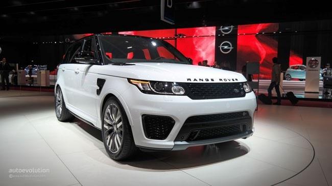"""""""Mục sở thị"""" xe SUV hạng sang Range Rover Sport SVR mới"""